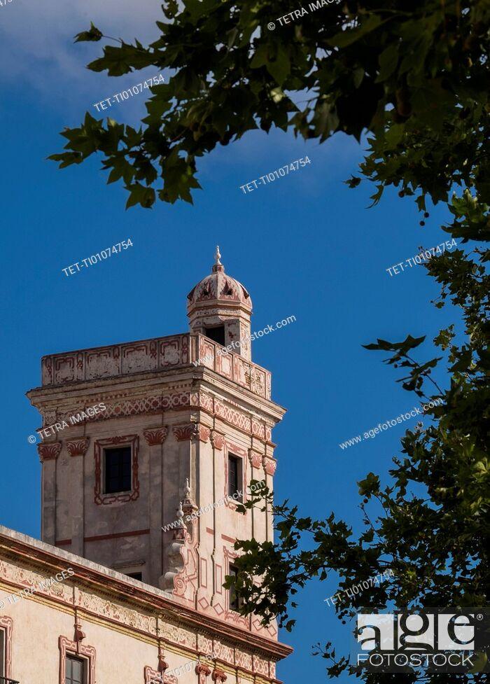 Stock Photo: Watchtower exterior.