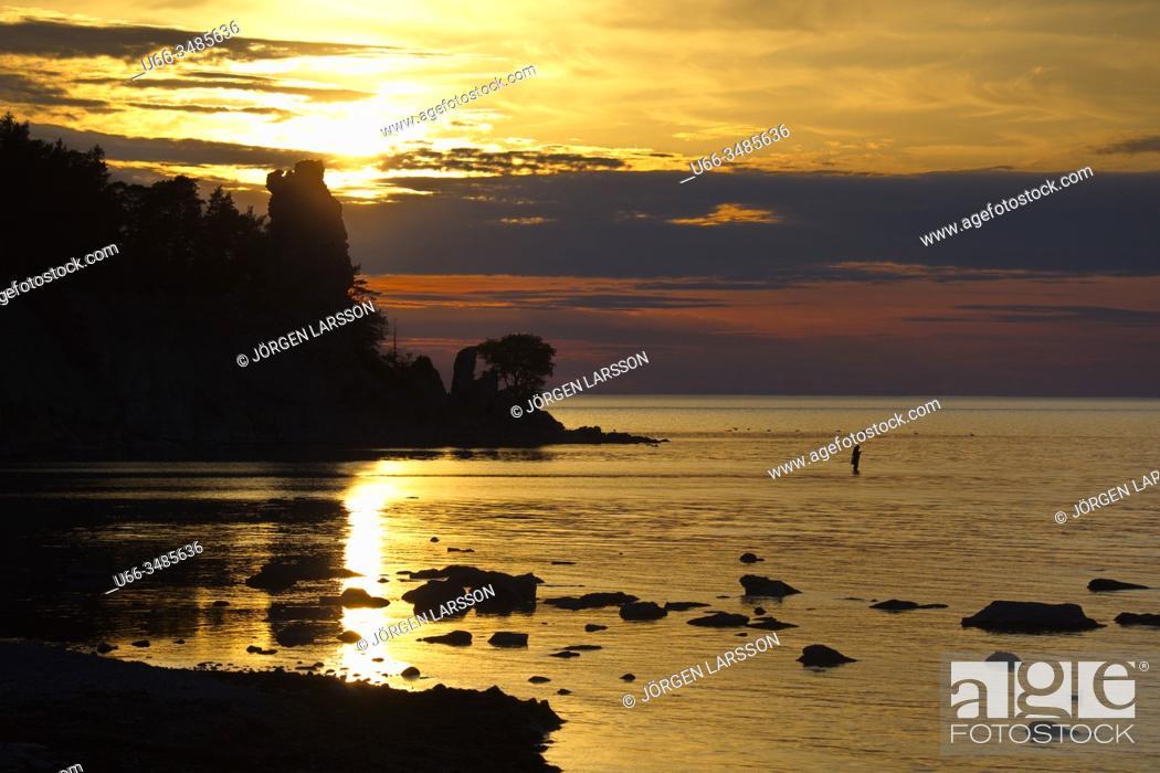 Imagen: Jungfrun, Lickershamn, Gotland, Sweden.