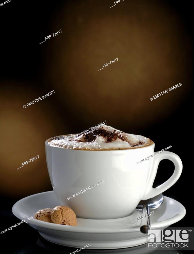 Stock Photo: Cappuccino.
