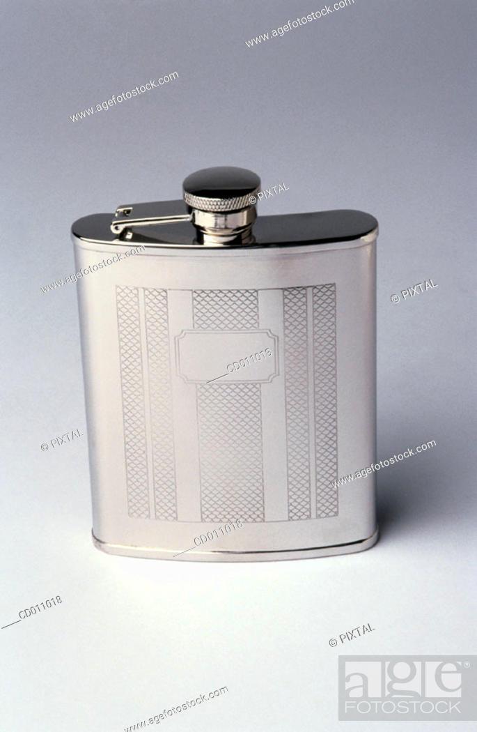 Stock Photo: Pocket flask.