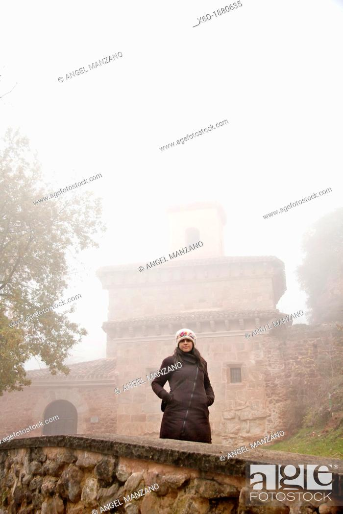 Stock Photo: Suso monastery, world heritage, San Millan de la Cogolla, La Rioja, Spain.