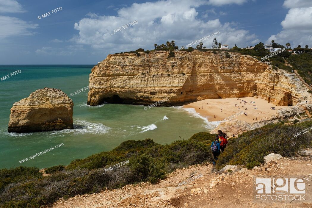 Stock Photo: Algarve, Portugal, Europe, Atlantic ocean. , Seven Valleys trail.