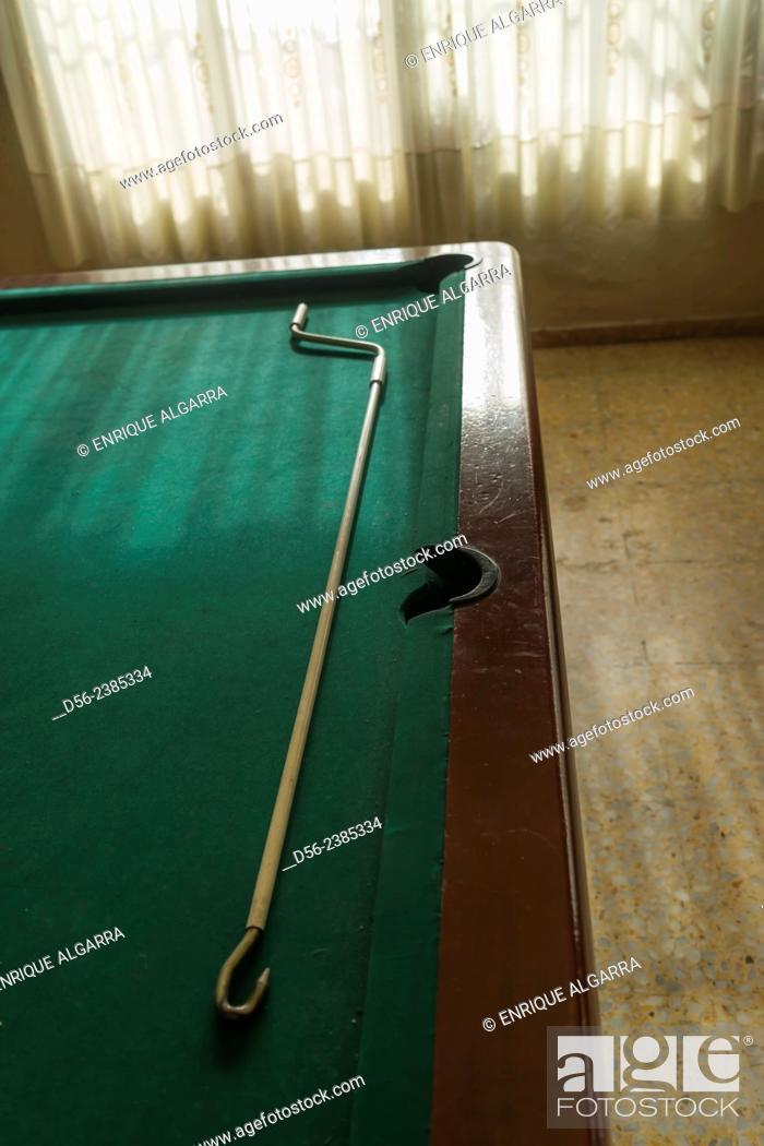 Imagen: pool table, Valencia, Spain.
