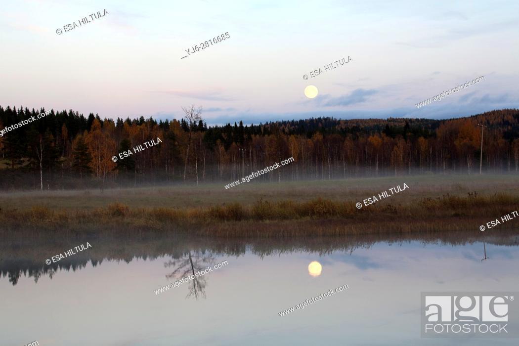 Imagen: Evening scenery, Valtimo Finland.