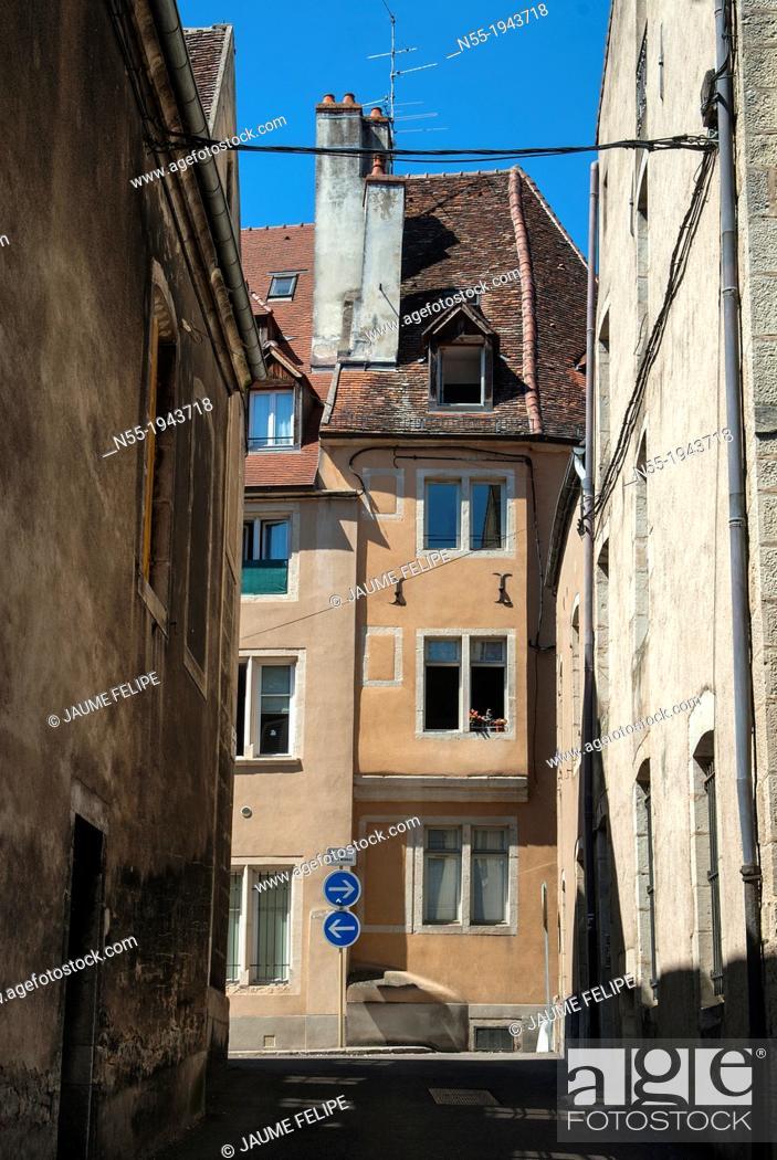 Stock Photo: Dole, Jura, Franche-Comté, France.