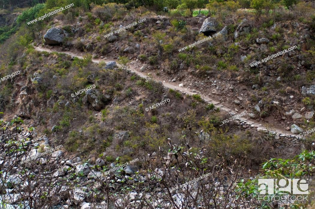 Stock Photo: Peru. Train to Machu Picchu. - 01/01/2010.