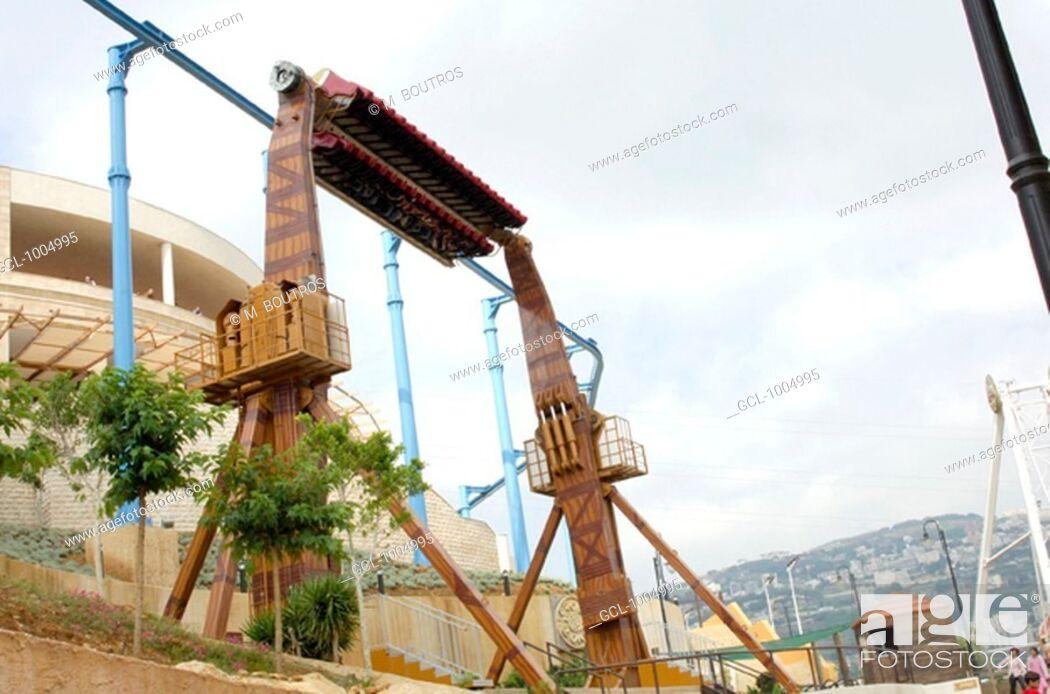 Stock Photo: Habtoor Land theme park in Jamhour, Lebanon.
