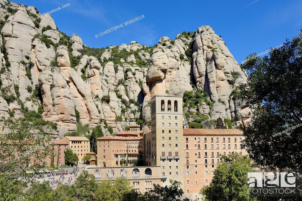 Imagen: Montserrat abbey, Barcelona province, Catalonia, Spain.