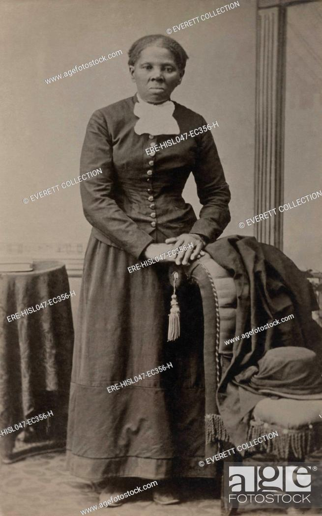 Stock Photo: Harriet Tubman, photograph by Harvey B. Lindsley, of Auburn, New York. It was taken between 1871 and 1876, when Tubman was about 50 years old.