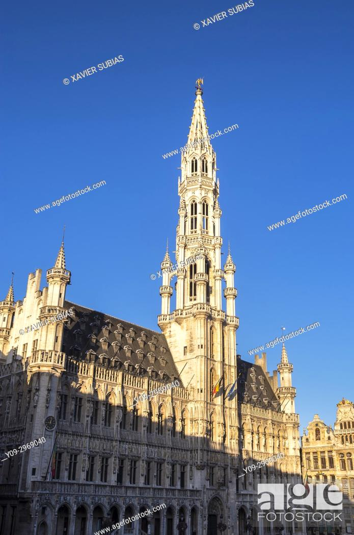 Stock Photo: City Hall, Brussels, Belgium.