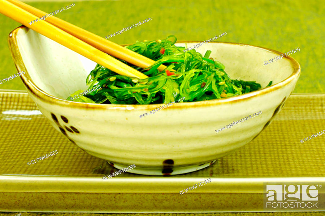 Stock Photo: Close-up of salad in a bowl.