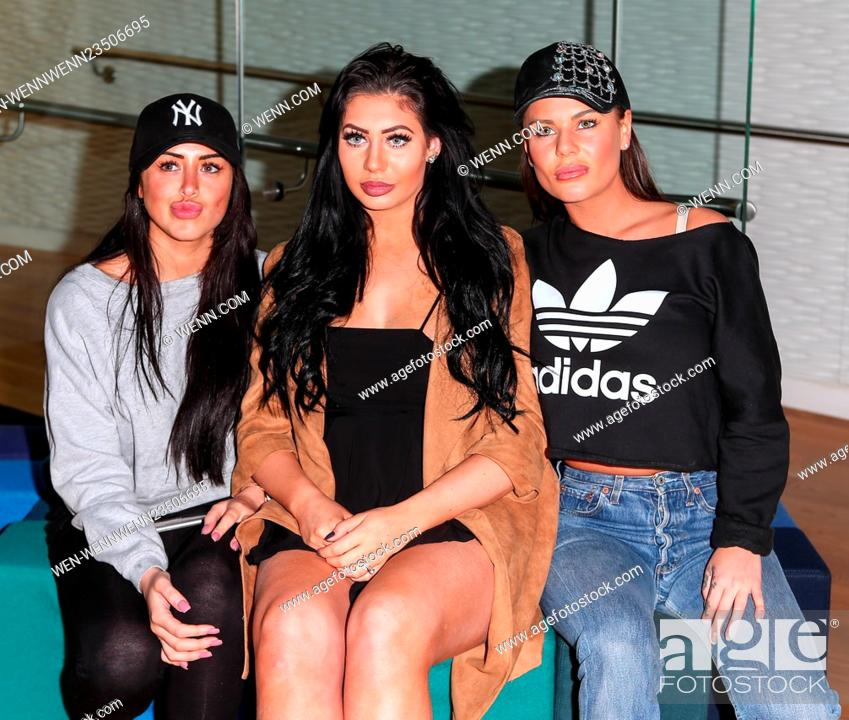 Photocall for series 12 of MTV's hit reality show 'Geordie
