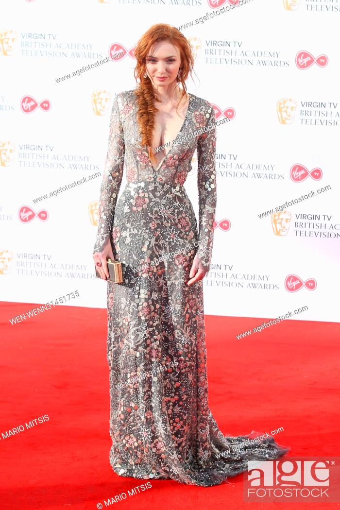 Stock Photo: The Virgin TV British Academy Television Awards held at the BFI Southbank - Arrivals Featuring: Eleanor Tomlinson Where: London.