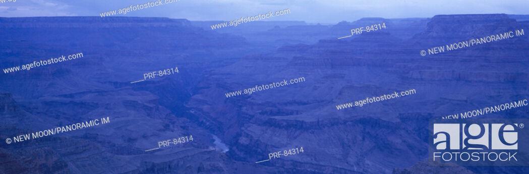 Stock Photo: Lipman Point South Rim Grand Canyon National Park AZ.