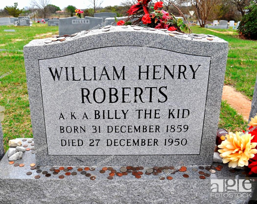 Billy the kid grave marker Stock Photos and Images | age fotostock