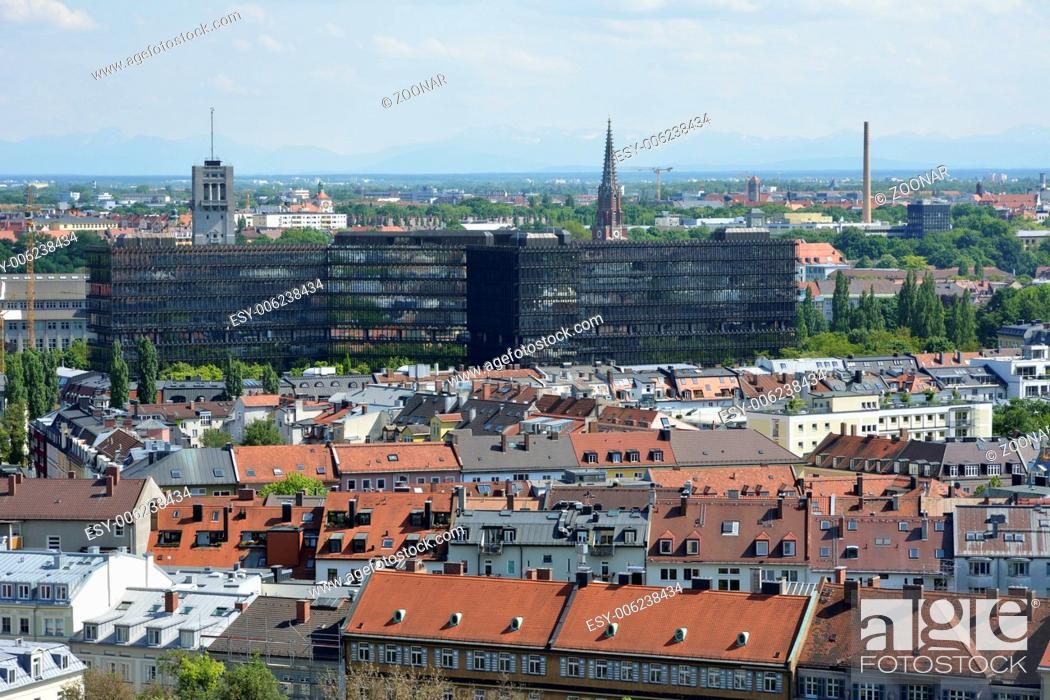 Stock Photo: Munich Cityscape.