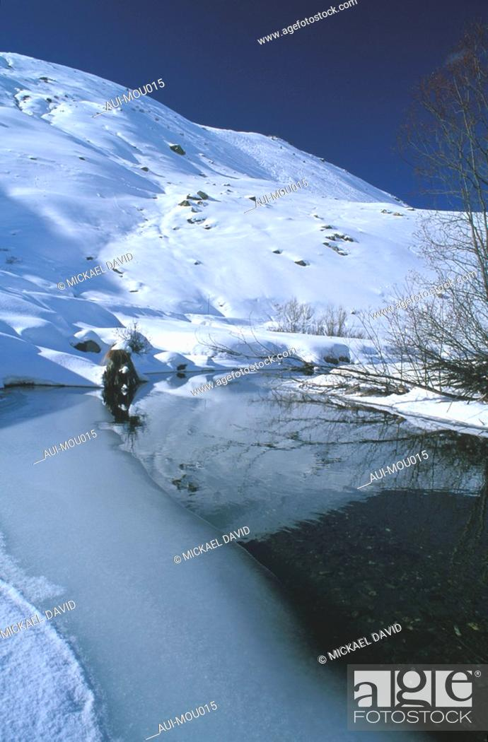 Stock Photo: Mountain - Belleville Valley - Les Menuires.