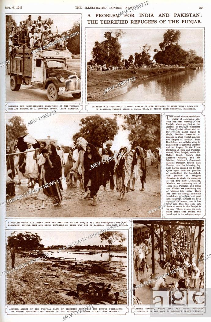 Partition india pakistan Stock Photos and Images | age fotostock