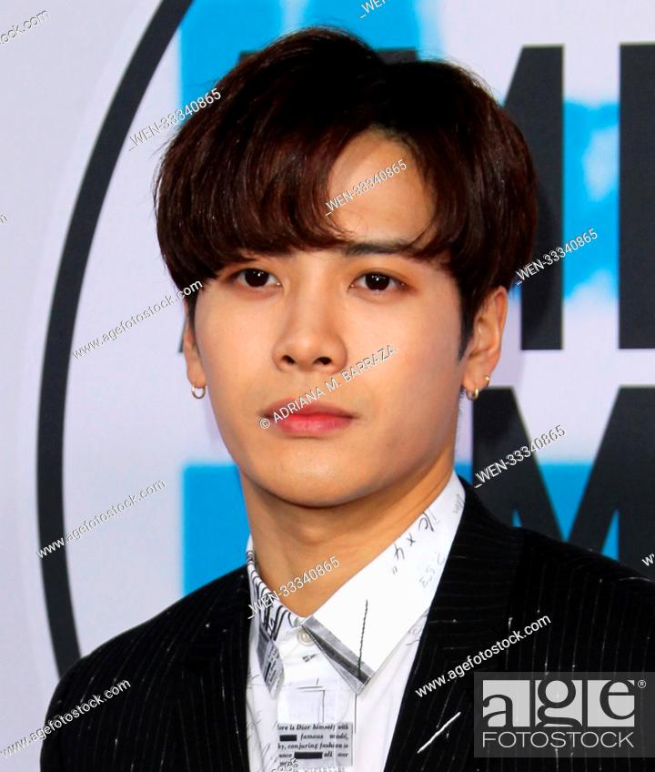 2017 American Music (AMA) Awards - Arrivals Featuring: Jackson Wang