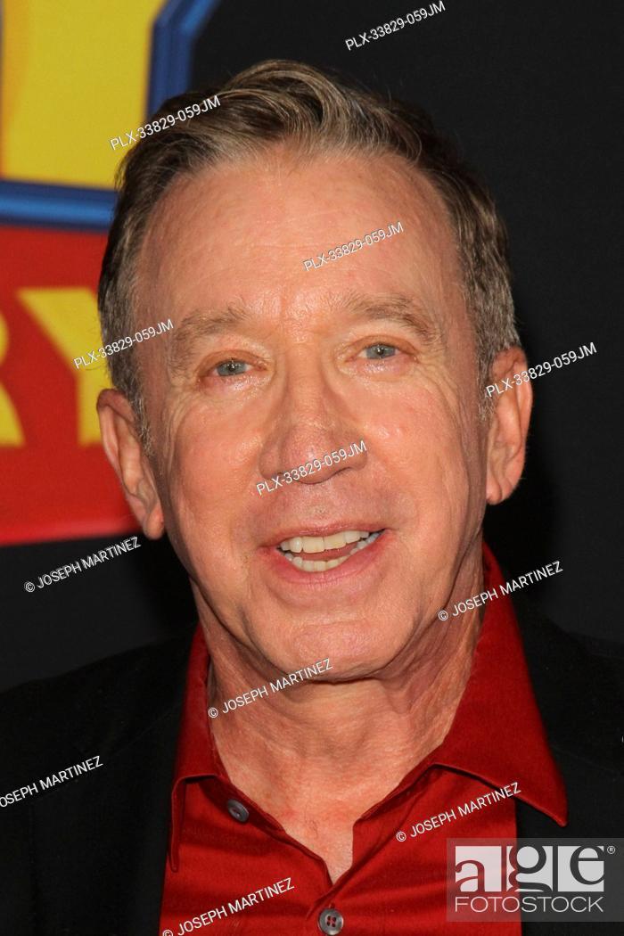 "Stock Photo: Tim Allen at Disney/Pixar's """"Toy Story 4"""" World Premiere held at El Capitan Theatre, Hollywood, CA, June 11, 2019. Photo Credit: Joseph Martinez / PictureLux."