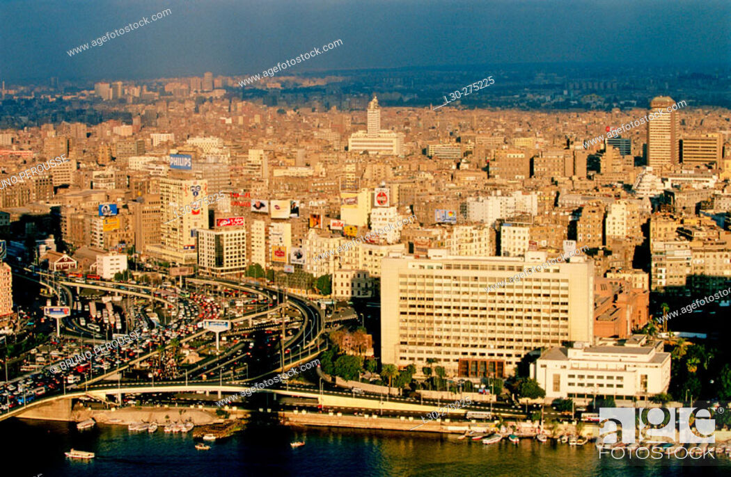 Stock Photo: View of Cairo. Egypt.