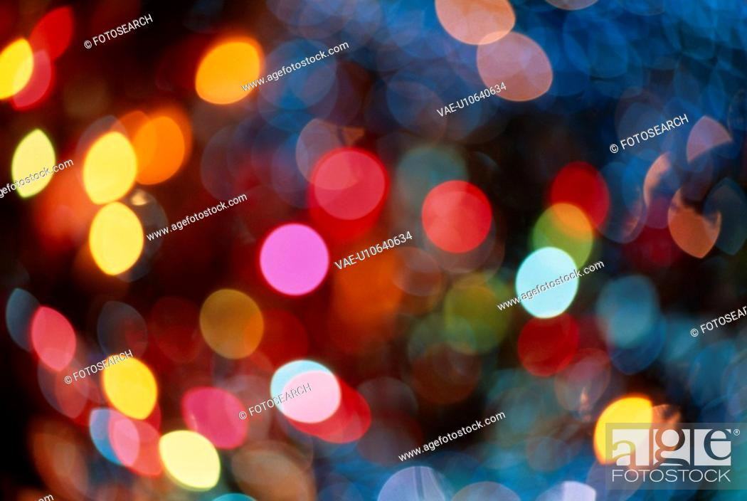 Stock Photo: Speckles Of Light Reflection.