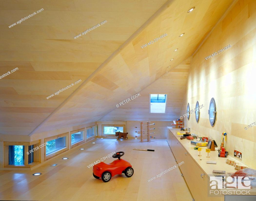 Stock Photo: PRIVATE HOUSE, LONDON, UNITED KINGDOM, Architect MCLEAN QUINLAN.