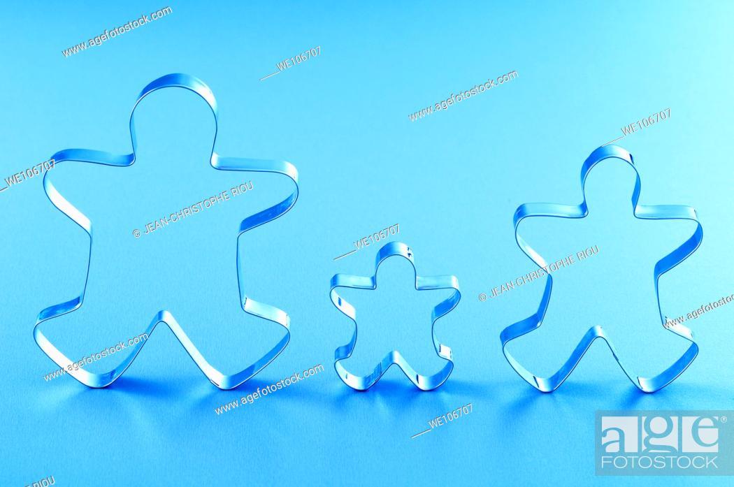 Stock Photo: Family symbol.