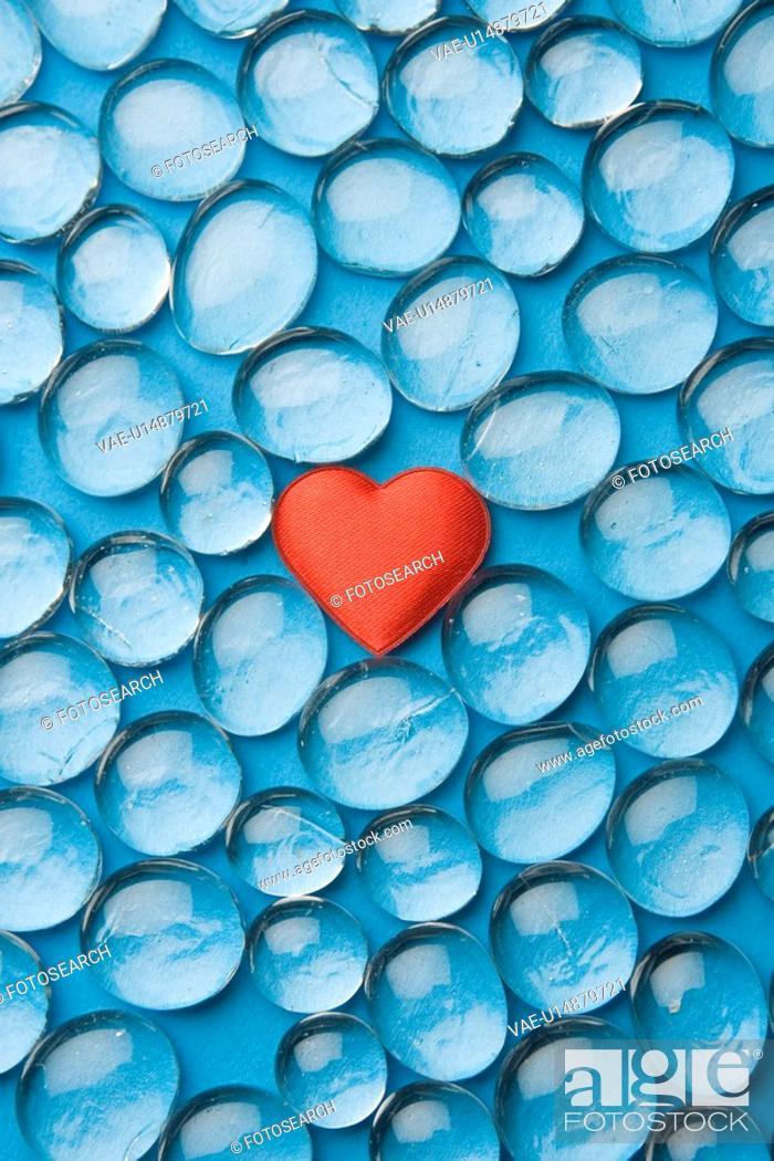 Stock Photo: Blue, Gem, Full Frame, Close-Up, Abundance.