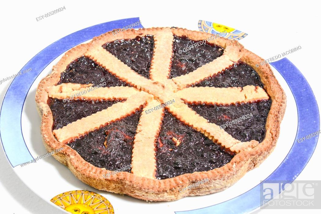 Stock Photo: fine pastry Original sweet Italian gourmands.