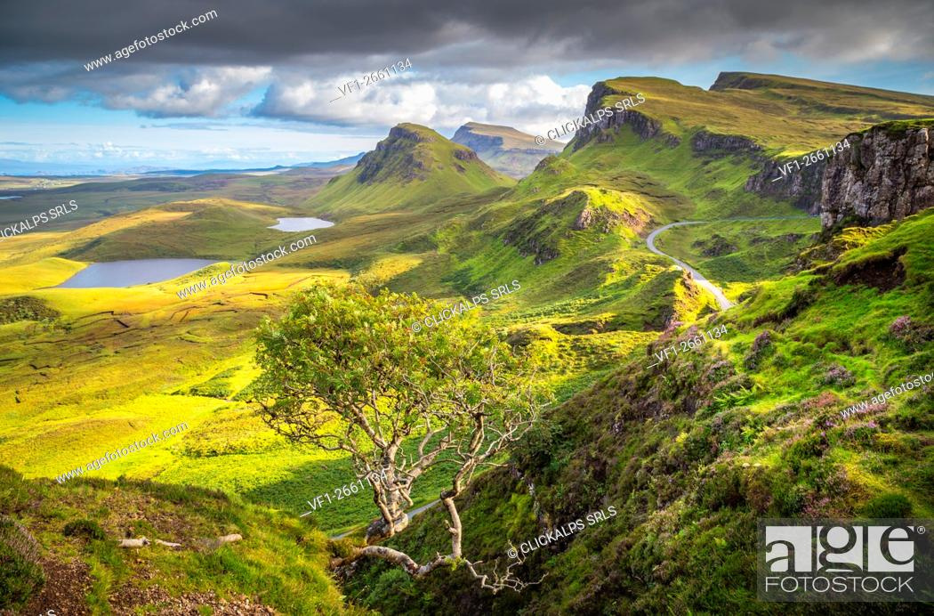 Imagen: Quiraing, Isle of Skye, Scotland.