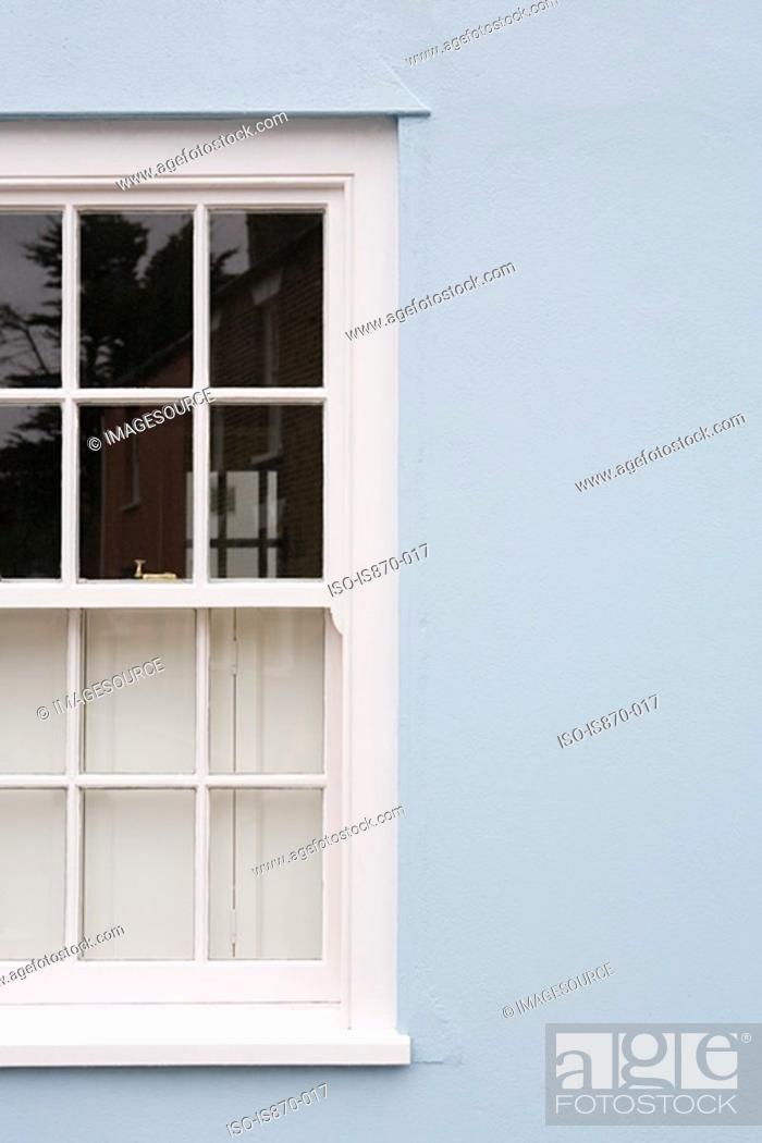Stock Photo: Window of a house.