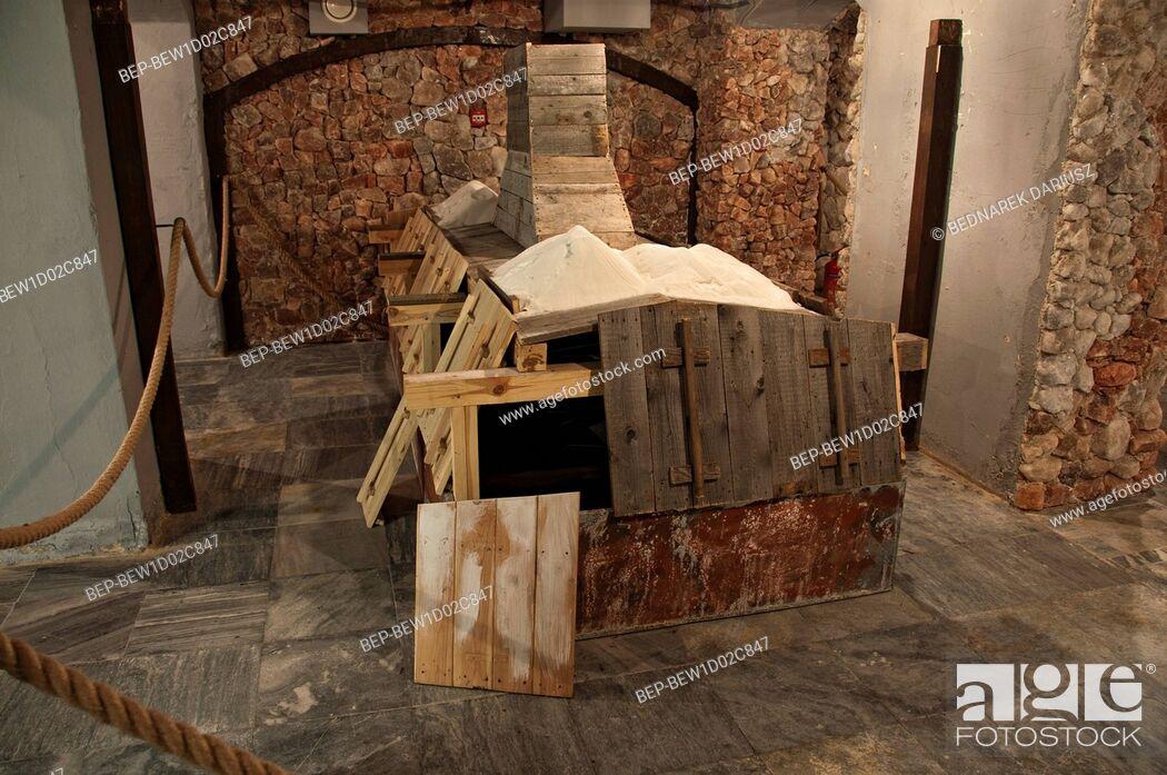 Imagen: The exhibition. Inowroclaw, Kuyavian-Pomeranian Voivodeship, Poland.