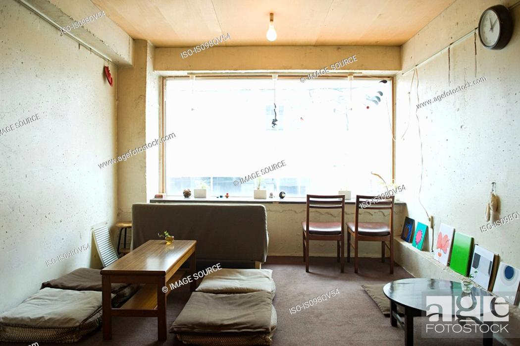 Stock Photo: Minimal room.