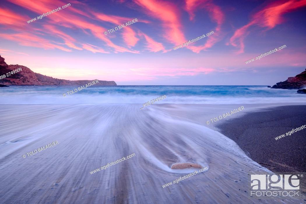 Stock Photo: Es Coll Baix, Alcudia, Majorca, Balearic Islands, Spain.