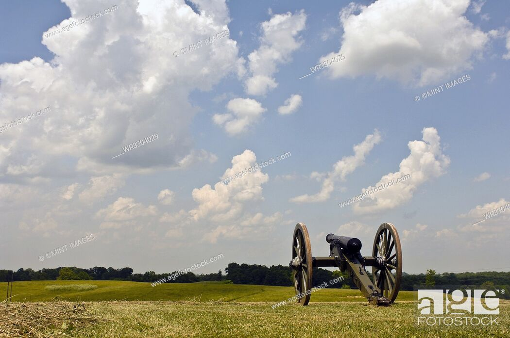 Photo de stock: Civil War Cannon.