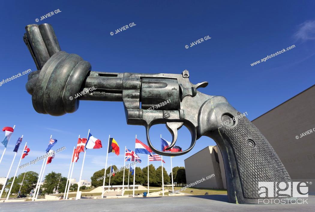 Stock Photo: Memorial de Caen, Normandy, France.