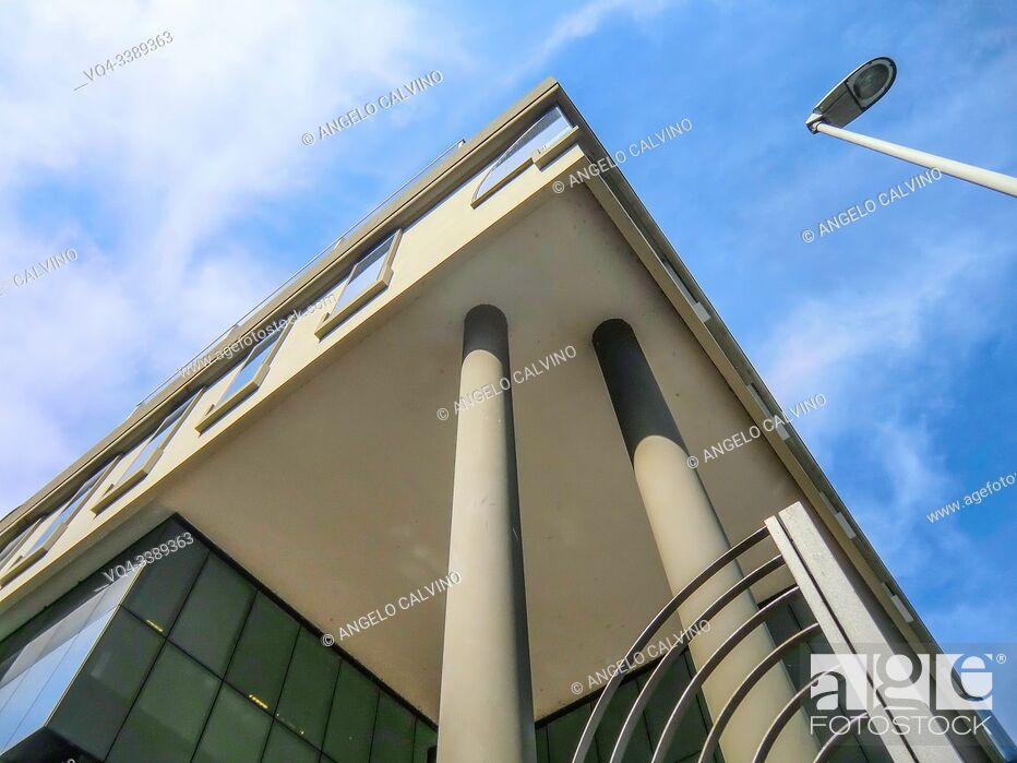 Imagen: Perspective Image of Banca di Sassari, Sassari, Sardinia, Italy, Europe.