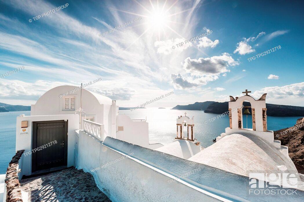 Imagen: Oia Town;Santorini;Aegean Sea;Greece.