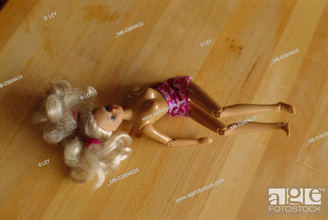 Barbie Doll Half Naked Floor Toy Doll Barbie Discarded