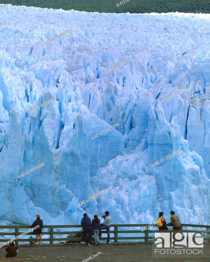 Stock Photo: Perito Moreno Glacier.