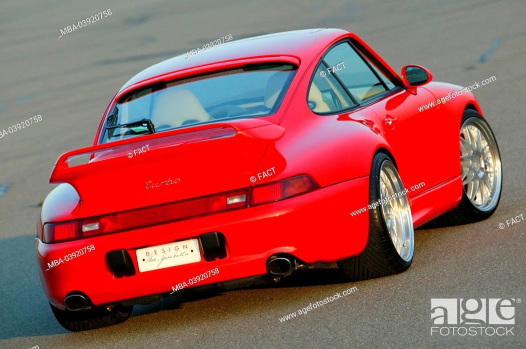 Porsche Gemballa Red Backview Series Vehicle Car Sport Cars