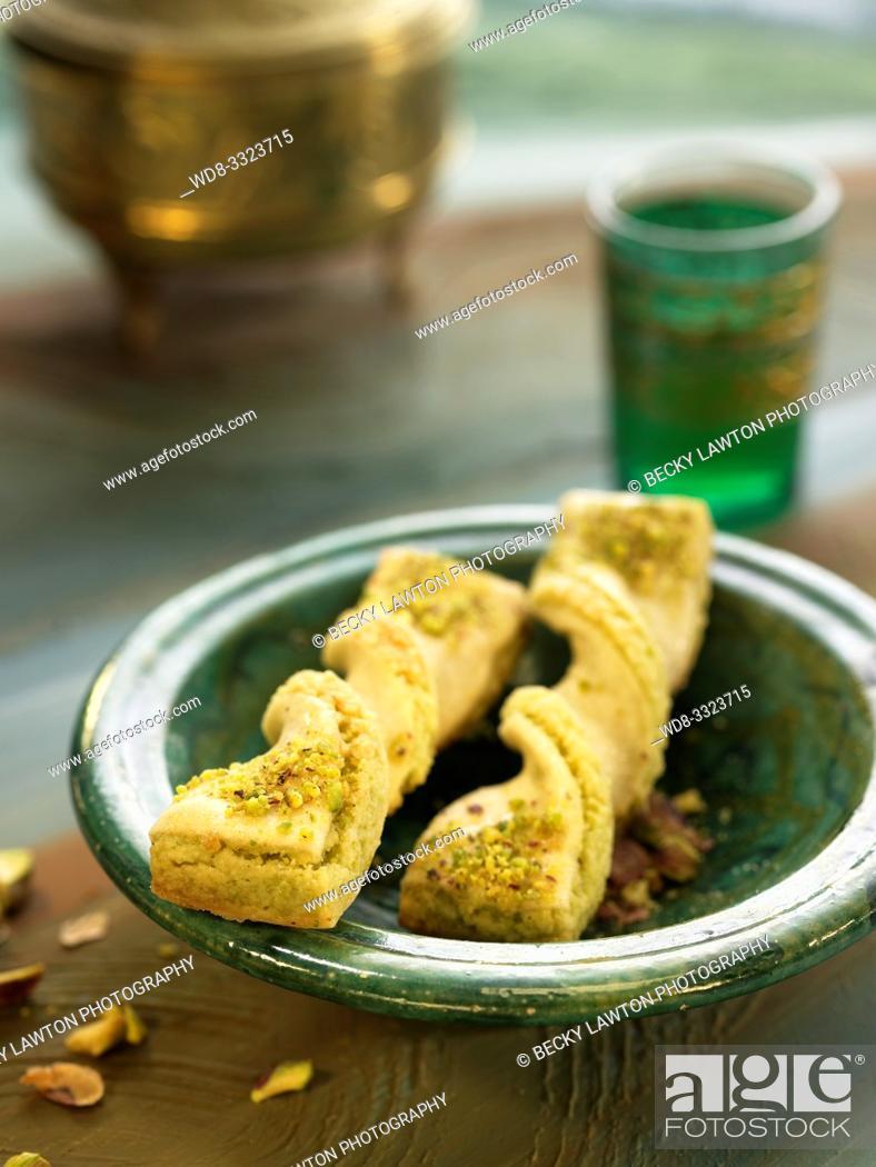Stock Photo: galletas aromatizadas.