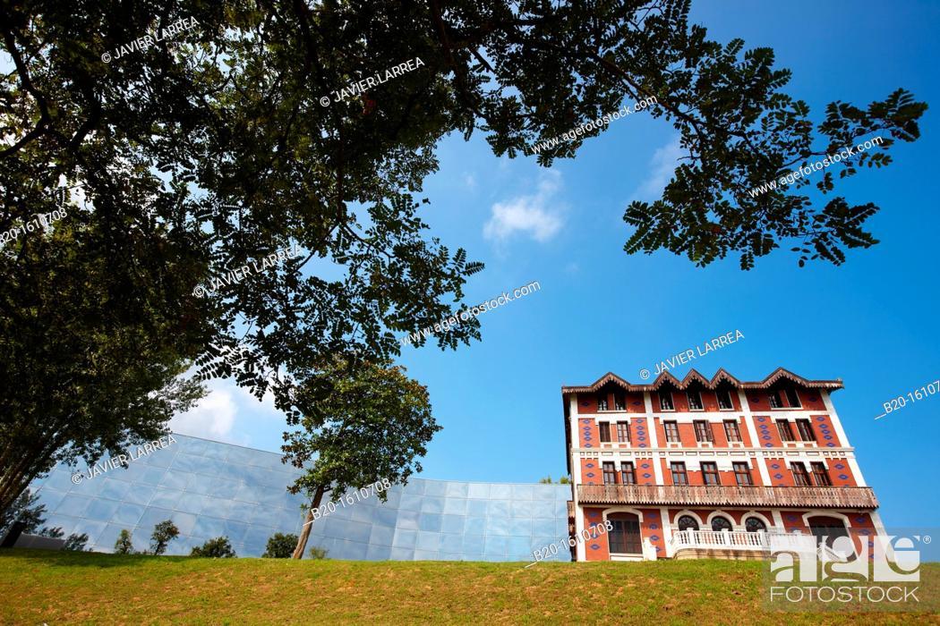 Stock Photo: Cristobal Balenciaga Museoa, Balenciaga Museum, Getaria, Gipuzkoa, Basque Country, Spain.