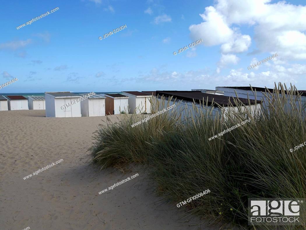Grass Beach Huts