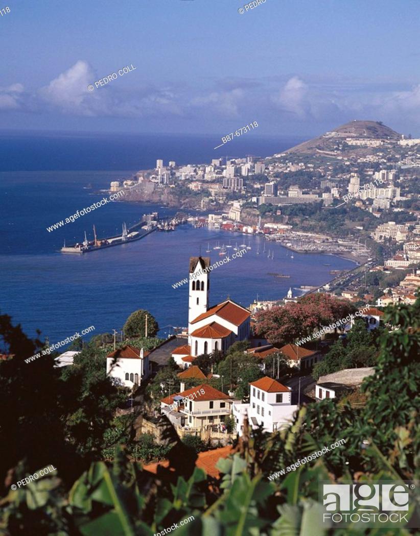 Stock Photo: Funchal. Madeira Islands, Spain.
