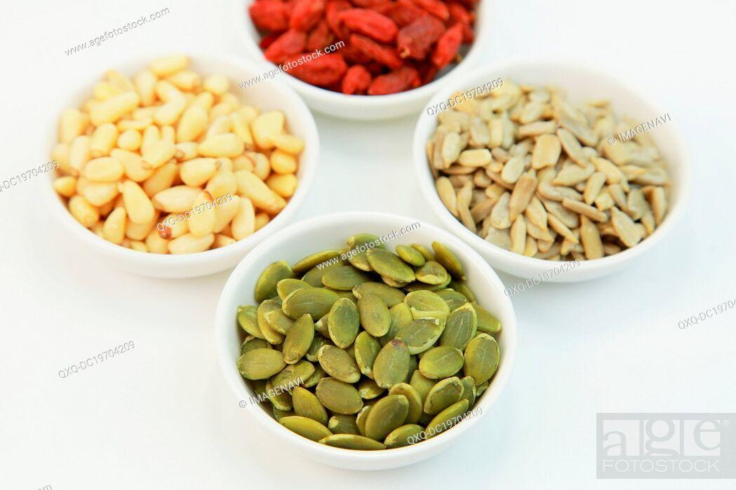 Imagen: Pumpkin seeds.
