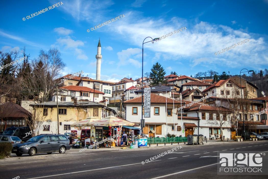 Stock Photo: Old Town, Sarajevo, Bosnia and Herzegovina.