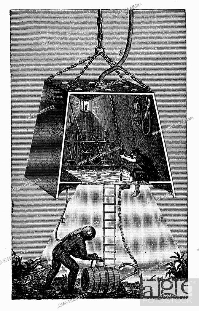 Stock Photo: Diving Bell.