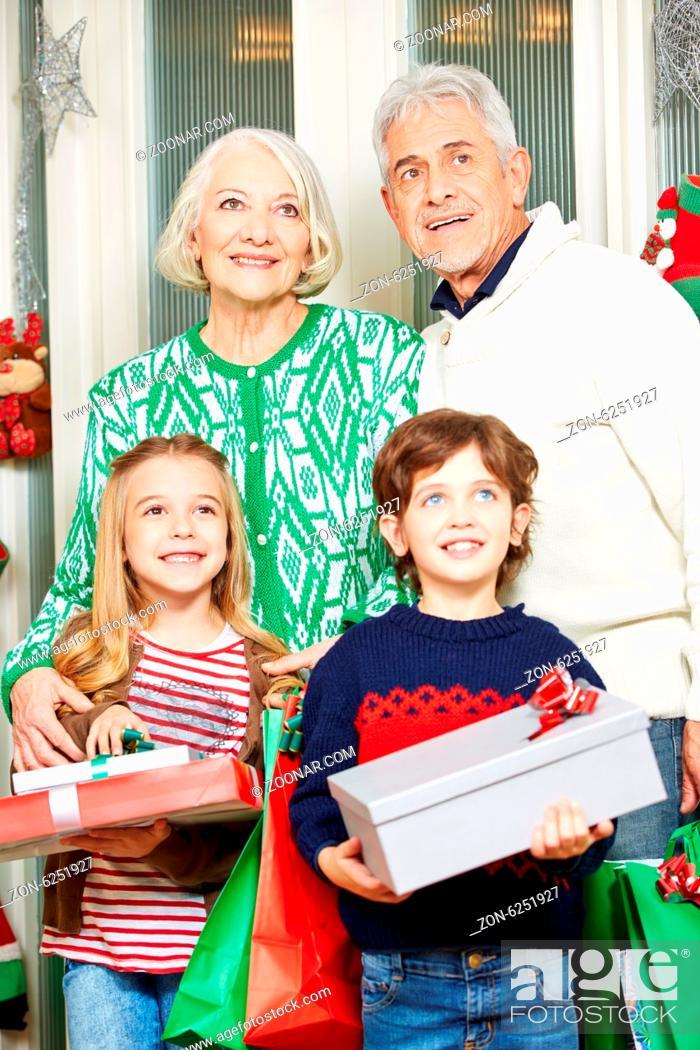ein opa zu weihnachten
